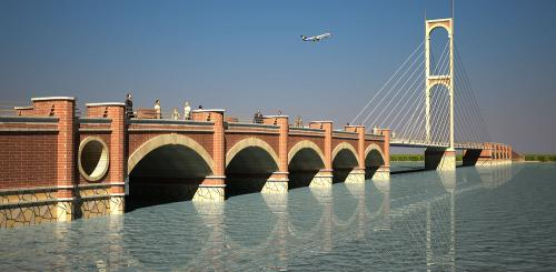 Tabriz Grand park's Bridge (1)