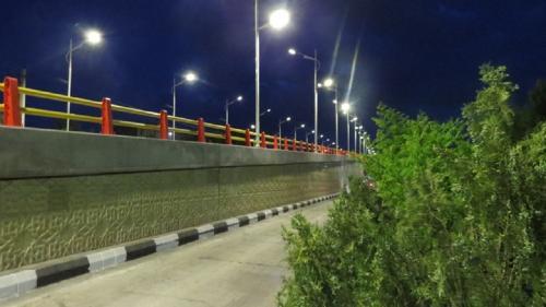 تقاطع غیرهمسطح خیابان آخونی با خیابان شهیدان ذاکر (3)