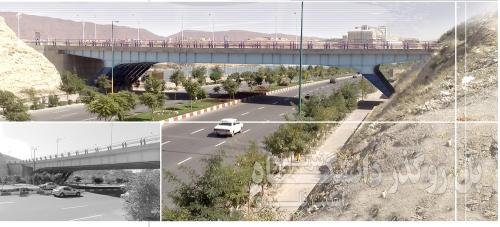 پل روگذر دانشگاه تبریز (2)