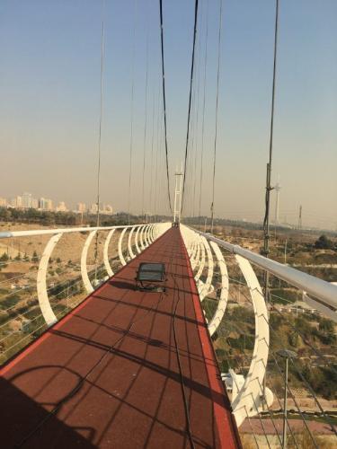 پل عابر پیاده معلق پارک نهج البلاغه تهران   (10)