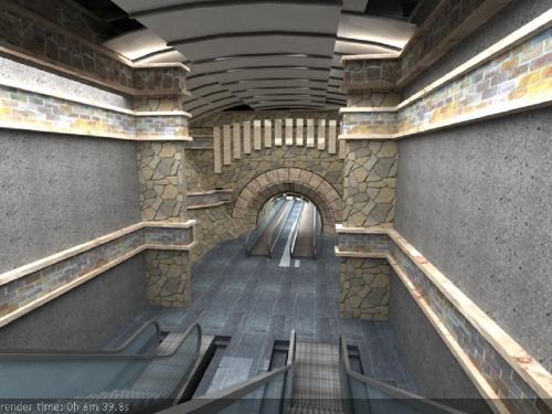 Azerbaijan Pedestrian Underpass (1)