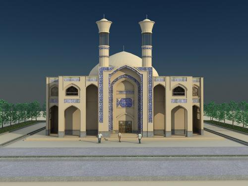 Jolfa Grand Mosque (1)