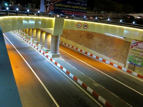 Shahid Hamid Bakeri Three levels  Intersection  (3)