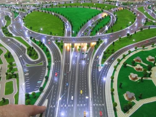 پلهای تقاطع غیرهمسطح میدان آذربایجان (1)