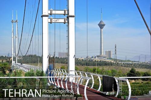 پل آسمان تهران (2)