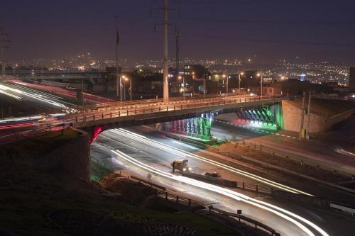 پل روگذر دانشگاه تبریز (1)