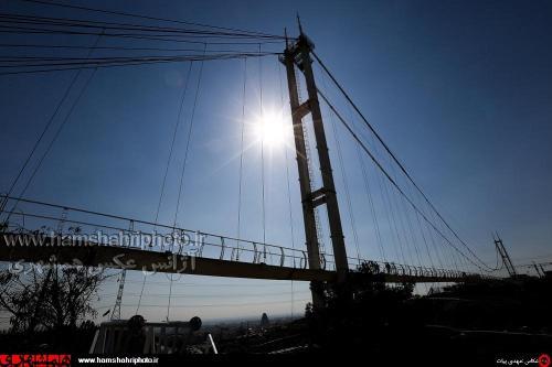 پل عابر پیاده معلق پارک نهج البلاغه تهران   (5)