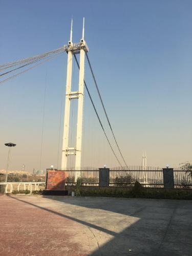 پل عابر پیاده معلق پارک نهج البلاغه تهران   (7)
